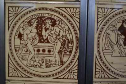 Shakespeare Fireplace Tiles Arts005 Antique Fireplace Company
