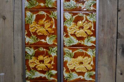 Victorian Fireplace Tiles V017