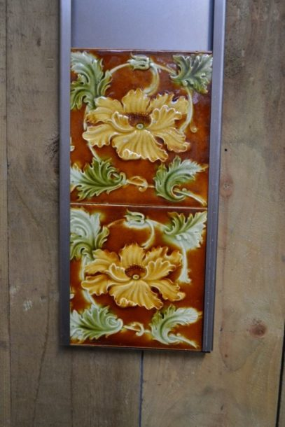 Victorian Fireplace Tiles V017