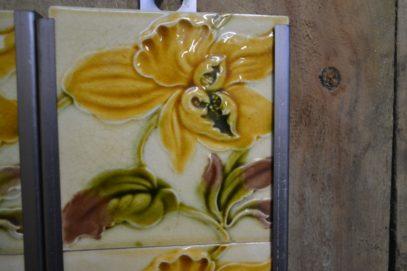 Victorian Fireplace Tiles V018