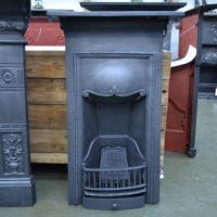 Edwardian Cast Iron Bedroom Fireplace - 4009B - Antique Fireplace Company