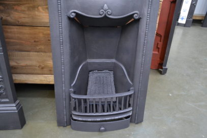 Edwardian Cast Iron Bedroom Fireplace - 4009B - Antique Fireplace Company