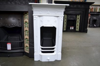 Small Art Nouveau Bedroom Fireplace 4020B - Oldfireplaces