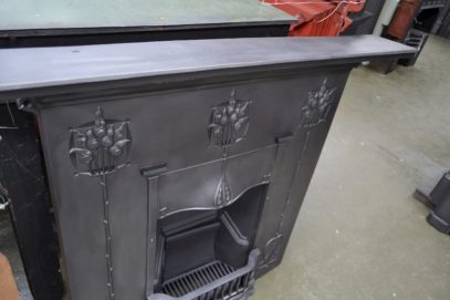 Art Nouveau Fireplace Combination 4028LC - Oldfireplaces