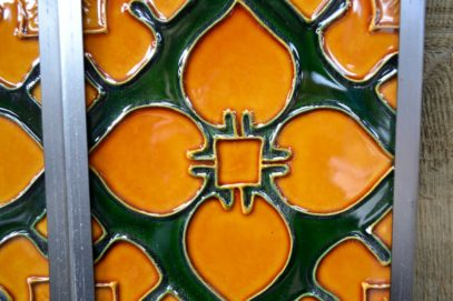 Classic Gothic Style Fireplace Tiles R030 - Oldfireplaces