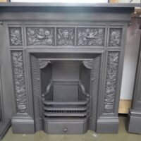 Arts and Crafts Fireplace William Morris 4037LC - Oldfireplaces