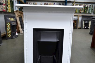 Painted Edwardian Bedroom Fireplace 4041B - Oldfireplaces