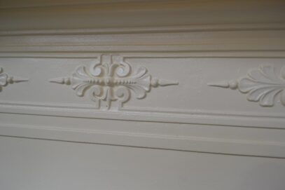 Victorian Painted Bedroom Fireplace - 4054B