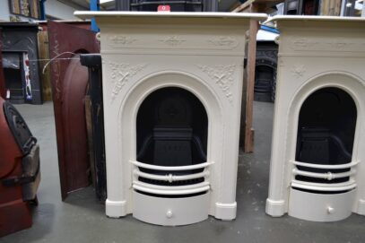 Victorian Arched Painted Fireplace 4055MC - Oldfireplaces