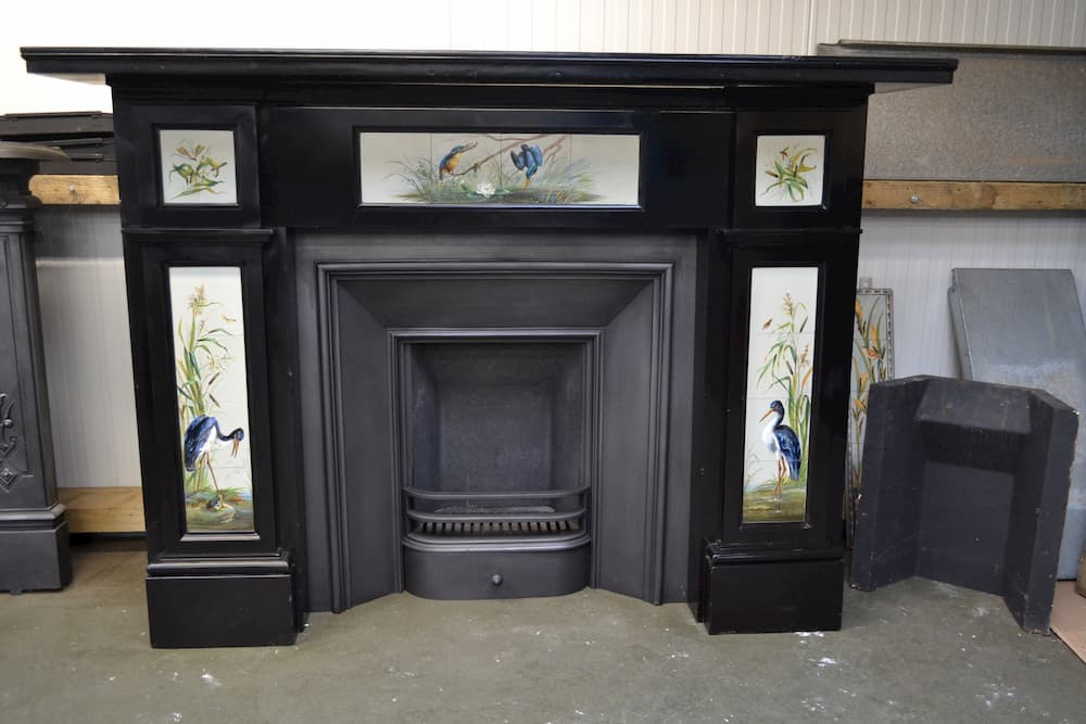 Black Marble Fire Surround 1794ms, Black Marble Fire Surround