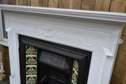 Victorian Cast Iron Surround Painted 4058CS - Oldfireplaces