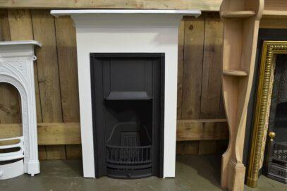 Painted Edwardian Bedroom Fireplace 4063B - Oldfireplaces