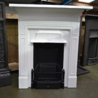 Painted Edwardian Fireplace 4065MC - Oldfireplaces