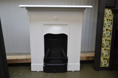 Edwardian Painted Fireplace 4066MC - Oldfireplaces