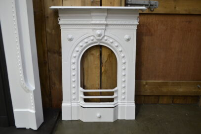 Painted Victorian Bedroom Fireplace 4067B - Oldfireplaces