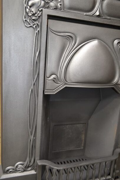 Tall Art Nouveau Fireplace - 4073LC