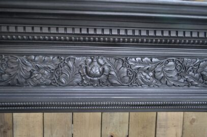 Original Arts & Crafts Cast Iron Surround 4096CS - Oldfireplaces