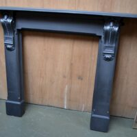 Victorian Corbelled Cast Iron Surround 4097CS - Oldfireplaces