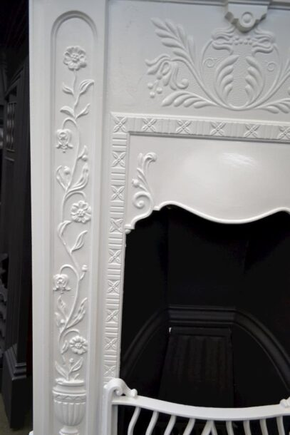 Painted Victorian Bedroom Fireplace - 4105B