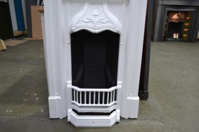 Tall Art Nouveau Bedroom Fireplace 4116B - Oldfireplaces