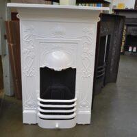 Art Nouveau Bedroom Fireplace 4121B - Oldfireplaces