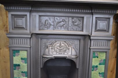Victorian Tiled Fireplace 4124TC - Oldfireplaces