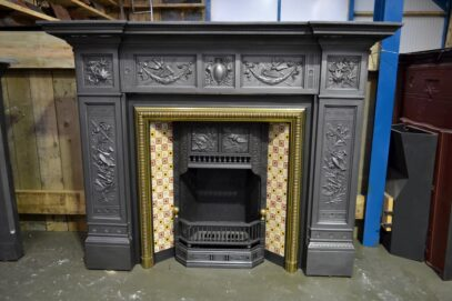 Victorian Cast Iron Fire Surround 4127CS - Oldfireplaces