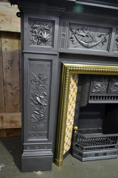 Victorian Cast Iron Fire Surround 4127CS - Oldfireplace