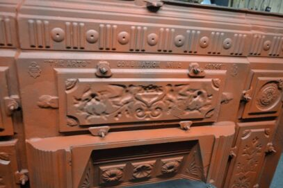 Victorian Arts Combination Fireplace 4128LC - Oldfireplaces