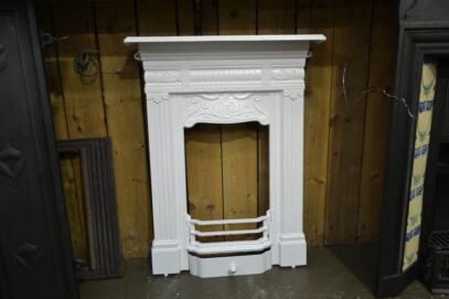 Painted Edwardian Bedroom Fireplace 4142B - Oldfireplaces