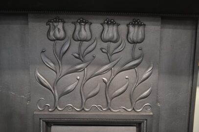 Pair of Art Nouveau Fireplaces 4148MC - Oldfireplaces
