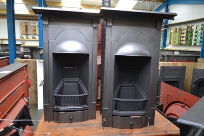 1930's Cast Iron Bedroom Fireplaces 4153B - Oldfireplaces