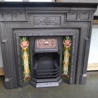 Art Nouveau Fire Surrounds - 4162CS
