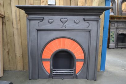 Vintage Art Nouveau Fire Surround 4166CS - Oldfireplaces