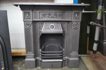 Victorian Cast Iron Fireplace The Scotia 4174LC - Oldfireplaces