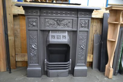 Victorian Arts Combination Fireplace 4176LC - Oldfireplaces