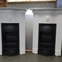 1930's Painted Bedrooms Fireplaces - Oldfireplaces