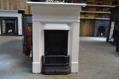 Painted Edwardian Bedroom Fireplace 4182B - Oldfireplaces