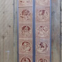 Shakespeare Fireplace Tiles - Arts 006 Oldfireplaces