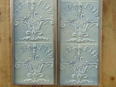 Cherub Reproduction Fireplace Tiles R060 Oldfireplaces
