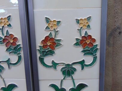 Hesslewood Reproduction Fireplace Tiles - R061 Oldfireplaces
