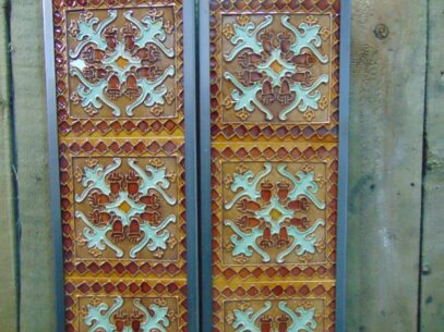 Norwich Reproduction Fireplace Tiles - R066 Oldfireplaces