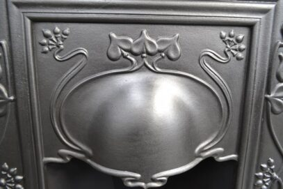 Art Nouveau Bedroom Fireplaces Pair 4205B - Oldfireplaces