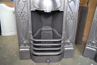Art Nouveau Bedroom Fireplaces Pair 4206B - Oldfireplaces