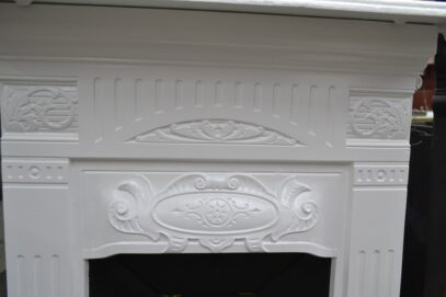 Victorian Bedroom Fireplace Painted 4234B - Oldfireplaces