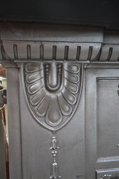 Edwardian Cast Iron Surround 4238CS - Oldfireplaces