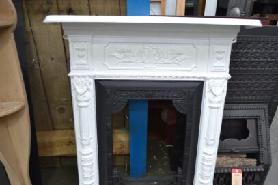 Vintage Victorian Fireplace Painted 4241MC - Oldfireplaces