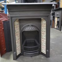 Small Victorian Fireplace Tiled 4210TC - Oldfireplaces