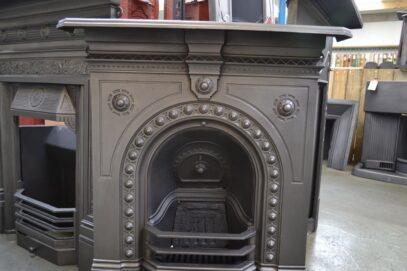 Antique Cast Iron Fireplace 4253MC - Oldfireplaces